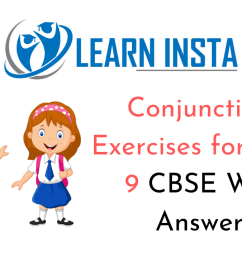 Conjunctions Exercises for Class 9 CBSE With Answers [ 720 x 1280 Pixel ]