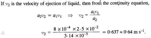 NCERT Solutions for Class 11 Physics Chapter 10 Mechanical Properties of Fluids 11