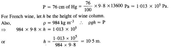 NCERT Solutions for Class 11 Physics Chapter 10 Mechanical Properties of Fluids 2