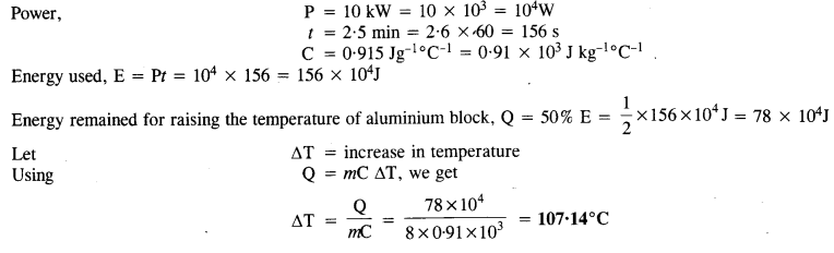 NCERT Solutions for Class 11 Physics Chapter 11 Thermal Properties of Matter 11
