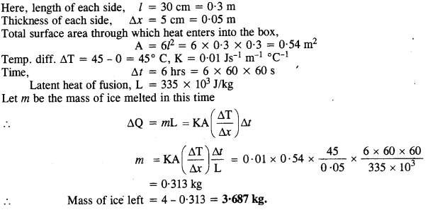 NCERT Solutions for Class 11 Physics Chapter 11 Thermal Properties of Matter 16