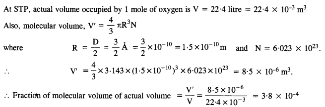 NCERT Solutions for Class 11 Physics Chapter 13 Kinetic Theory 1