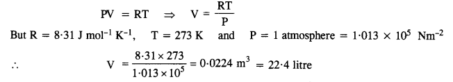 NCERT Solutions for Class 11 Physics Chapter 13 Kinetic Theory 2