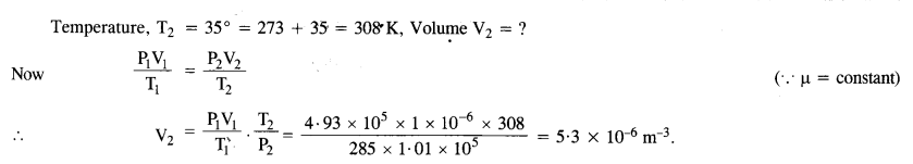 NCERT Solutions for Class 11 Physics Chapter 13 Kinetic Theory 6