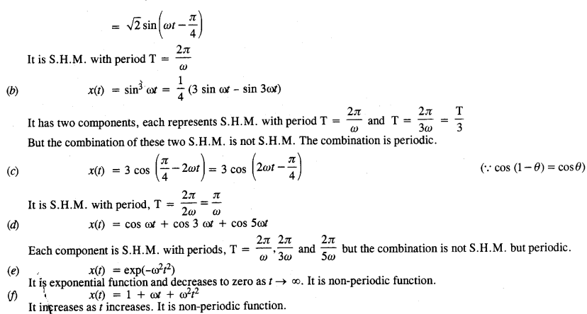 NCERT Solutions for Class 11 Physics Chapter 14 Oscillations 3