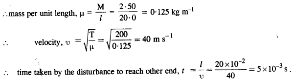 NCERT Solutions for Class 11 Physics Chapter 15 Waves 1
