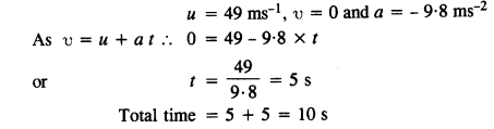 NCERT Solutions for Class 11 Physics Chapter 3 Motion in a Straight Line 26