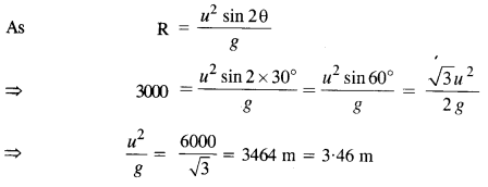 NCERT Solutions for Class 11 Physics Chapter 4 Motion in a Plane 35