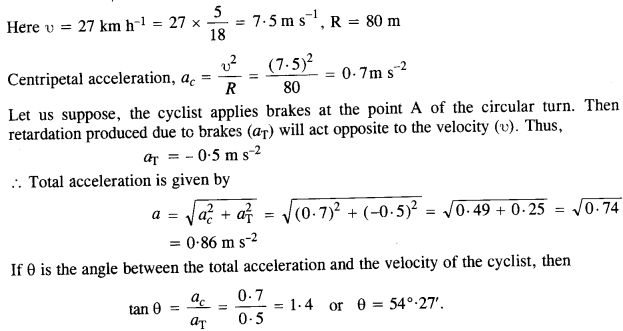 NCERT Solutions for Class 11 Physics Chapter 4 Motion in a Plane 40