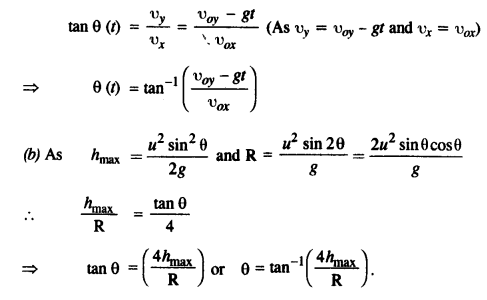 NCERT Solutions for Class 11 Physics Chapter 4 Motion in a Plane 44