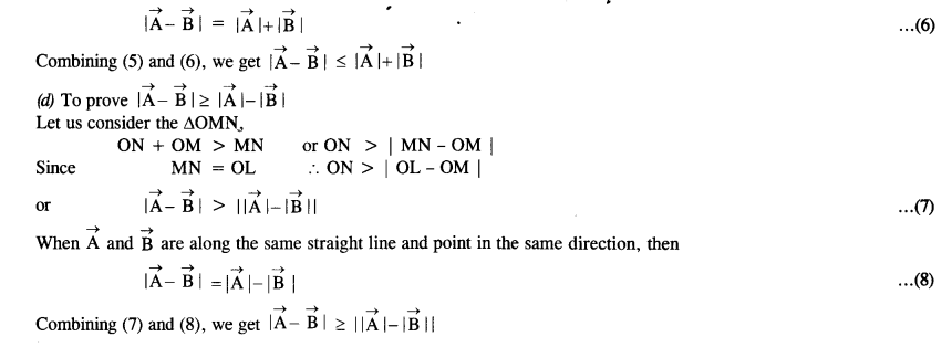 NCERT Solutions for Class 11 Physics Chapter 4 Motion in a Plane 6