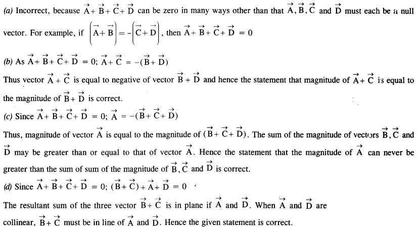 NCERT Solutions for Class 11 Physics Chapter 4 Motion in a Plane 8