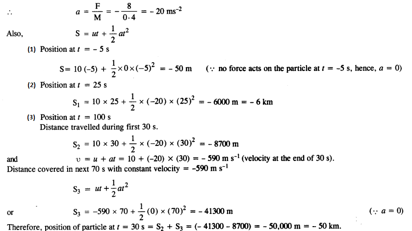 NCERT Solutions for Class 11 Physics Chapter 5 Laws of Motion 8