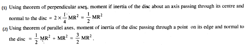 NCERT Solutions for Class 11 Physics Chapter 7 System of Particles and Rotational Motion 14