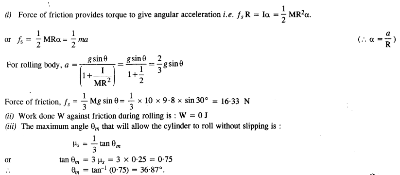 NCERT Solutions for Class 11 Physics Chapter 7 System of Particles and Rotational Motion 47