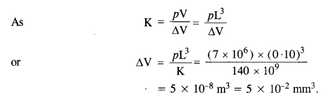 NCERT Solutions for Class 11 Physics Chapter 9 Mechanical Properties of Solids 16