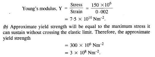 NCERT Solutions for Class 11 Physics Chapter 9 Mechanical Properties of Solids 3