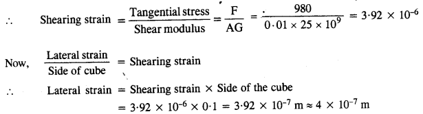 NCERT Solutions for Class 11 Physics Chapter 9 Mechanical Properties of Solids 9
