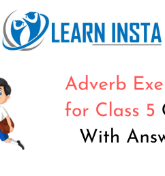 Adverb Exercises for Class 5 CBSE with Answers [ 720 x 1280 Pixel ]
