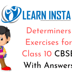 Determiners Exercises for Class 10 CBSE With Answers [ 720 x 1280 Pixel ]