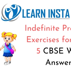 Indefinite Pronouns Exercises for Class 5 CBSE With Answers [ 720 x 1280 Pixel ]