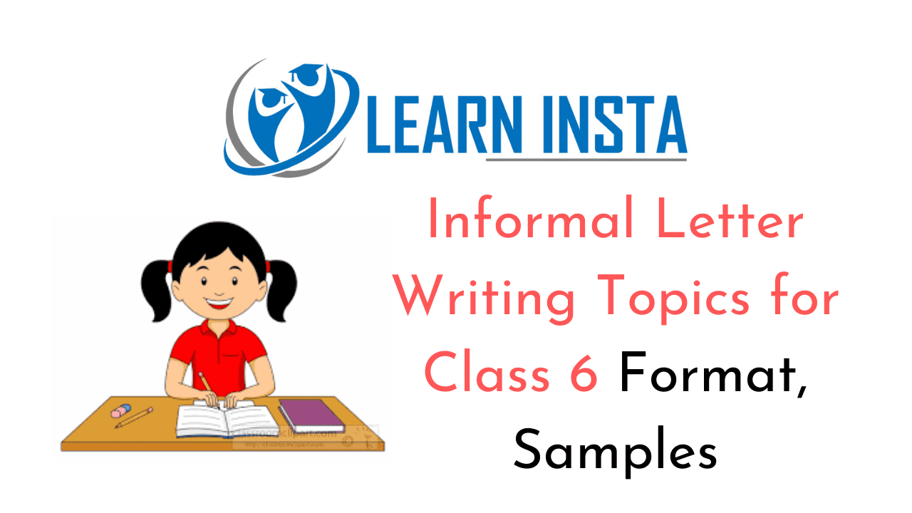 hight resolution of Informal Letter Writing Topics for Class 6 Format