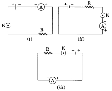 MCQ Questions for Class 10 Science Chapter 12 Electricity