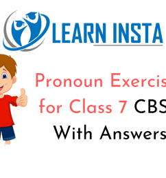 Pronoun Exercises for Class 7 CBSE With Answers [ 720 x 1280 Pixel ]
