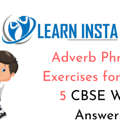 Adverb Phrases Exercises for Class 5 CBSE with Answers [ 720 x 1280 Pixel ]