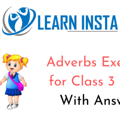 Adverbs Worksheet Exercises for Class 3 CBSE with Answers [ 720 x 1280 Pixel ]