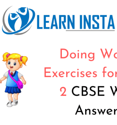 Doing Words Worksheet Exercises for Class 2 Examples with Answers CBSE [ 720 x 1280 Pixel ]