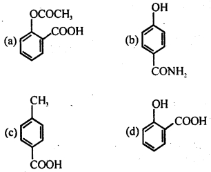 MCQ Questions for Class 12 Chemistry Chapter 16 Chemistry in Everyday Life with Answers