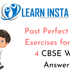 Past Perfect Tense Exercise for Class 4 CBSE with Answers [ 720 x 1280 Pixel ]