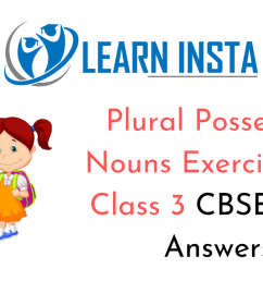 Plural Possessive Nouns Worksheet for Class 3 CBSE with Answers [ 720 x 1280 Pixel ]