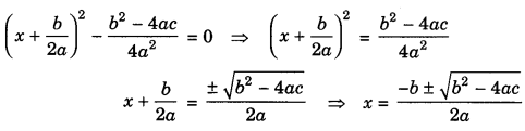 Quadratic Equations Class 10 Notes Maths Chapter 4 1