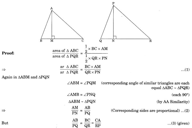 Triangles Class 10 Notes Maths Chapter 6 8