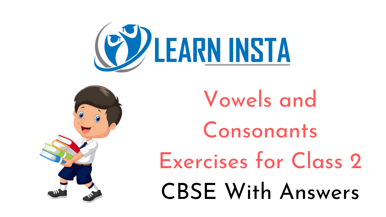 hight resolution of Vowels and Consonants Worksheet Exercises for Class 2 Examples with Answers  CBSE