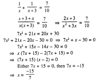 Selina Concise Mathematics Class 10 ICSE Solutions Chapter 6 Solving Problems Ex 6A Q5.1