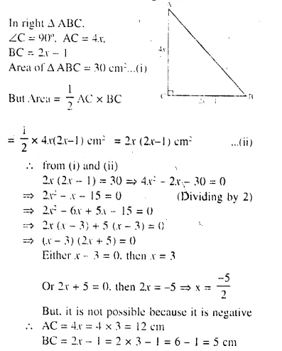 Selina Concise Mathematics Class 10 ICSE Solutions Chapter 6 Solving Problems Ex 6B Q1.1