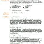 Building Services Engineer CV Example