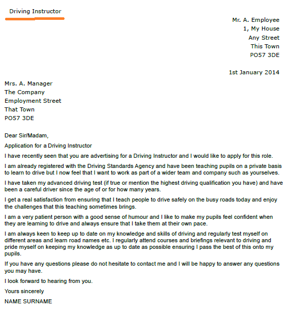 Cover Letter Examples To Unknown Recipient Dental
