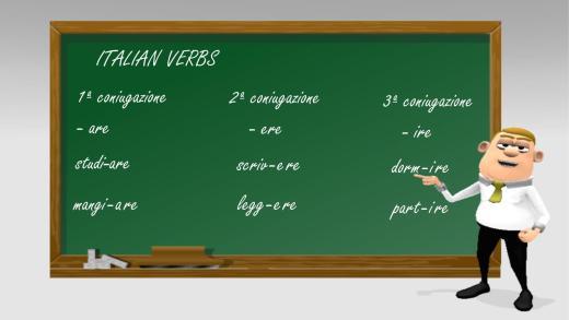 Italian verbs - conjugations