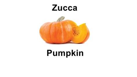 Names of vegetables - pumpkin