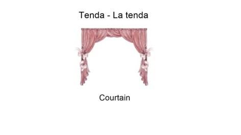 Tenda - La tenda - Courtain