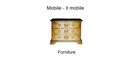 Forniture in italian