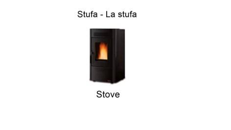 Stove in italian - Stufa