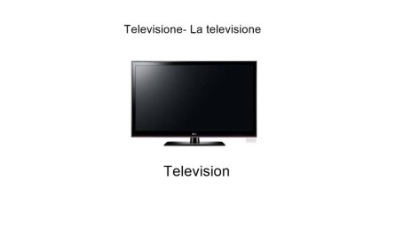 Television - Italian Words