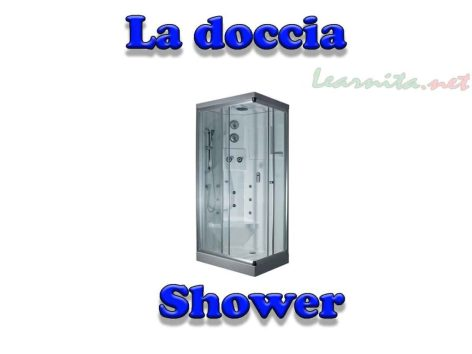 La doccia - Shower