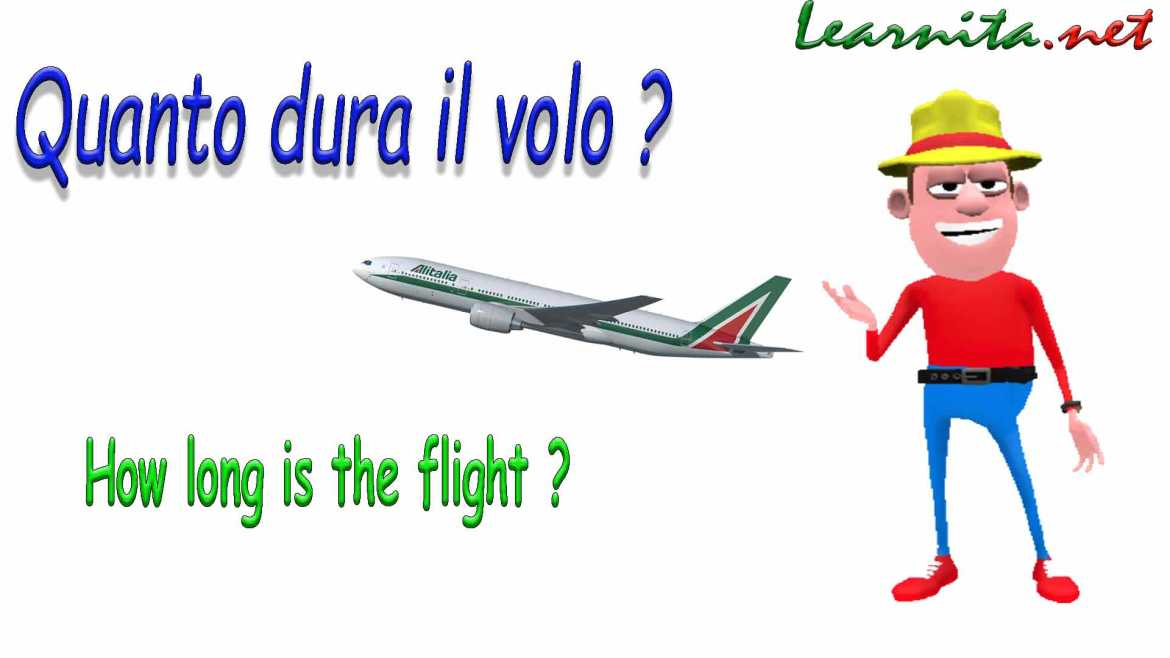 Asks questions in italian