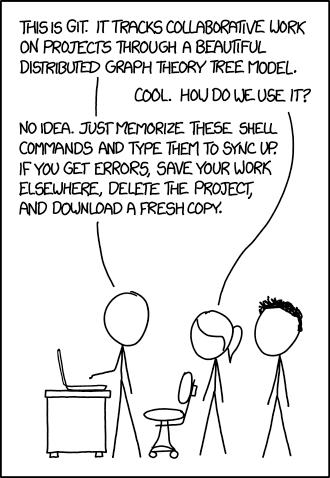 XKCD Git